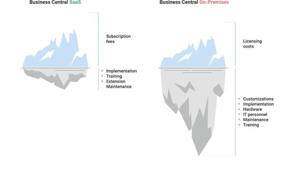 BC On Premise vs Saas