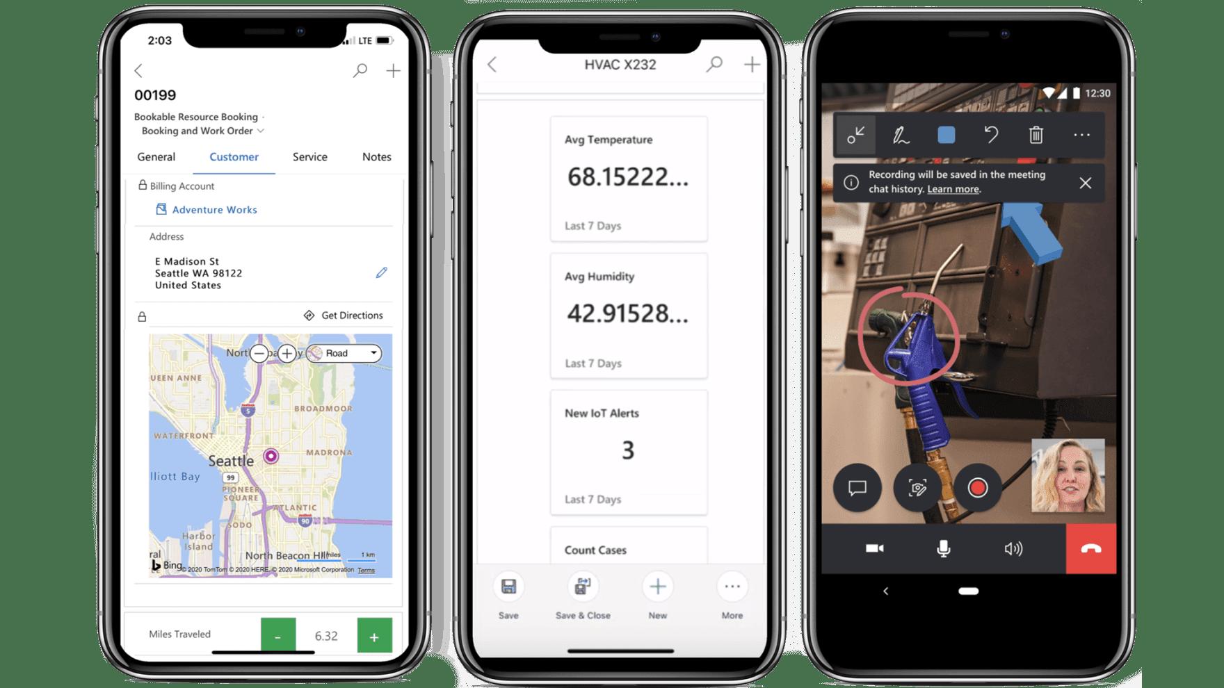 Dynamics 365 Field Service Mobile