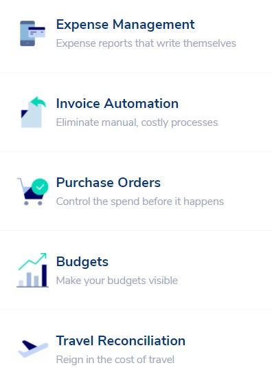 Expense Manager Functions