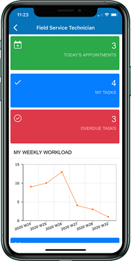 MYOB Advanced Field Service Mobile